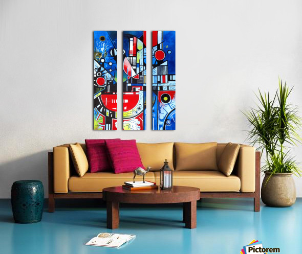 Absolute Abstracts 24 Split Canvas print