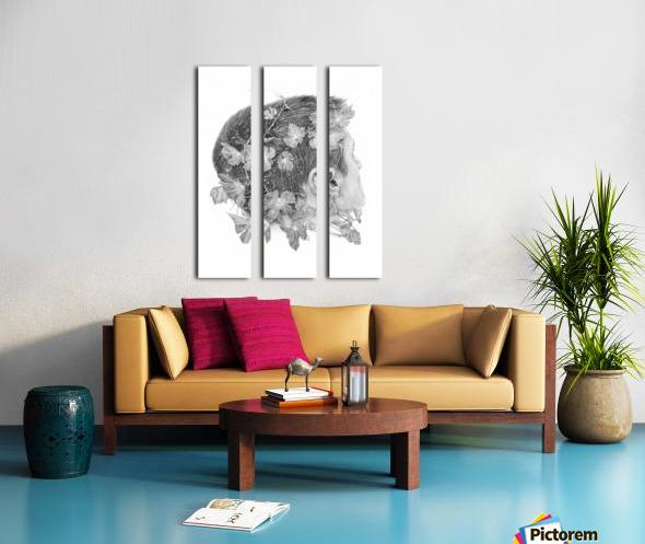 Devine Split Canvas print