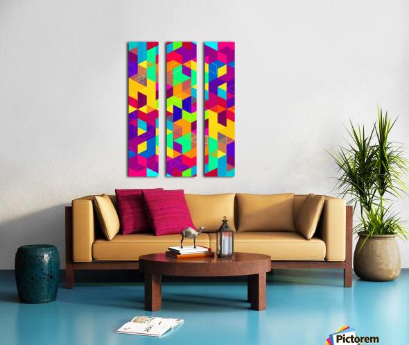 Pattern LXXX Split Canvas print