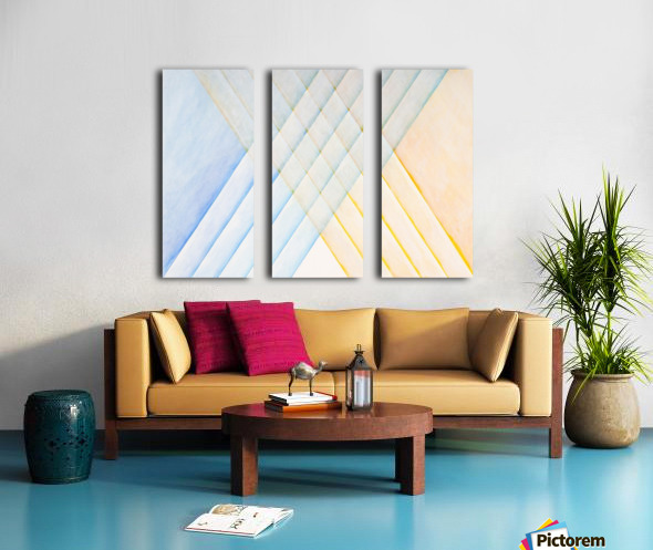 CLARITY Split Canvas print