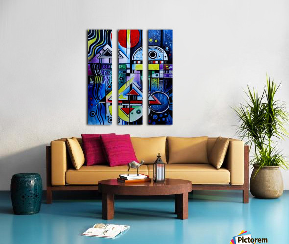 Love 1 Split Canvas print