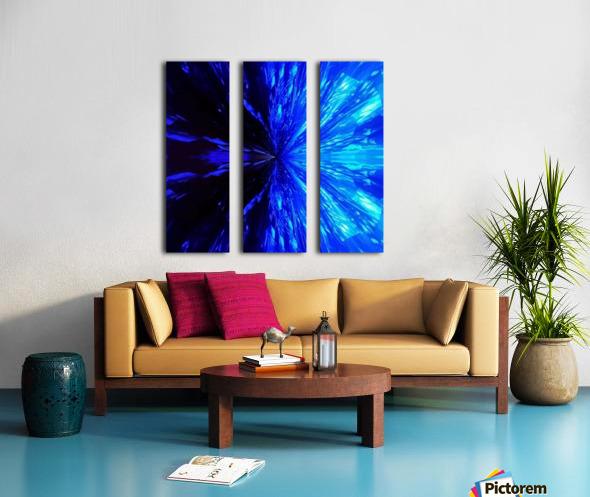 222_mirror14 Split Canvas print