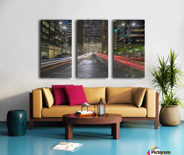 Zoom Split Canvas print
