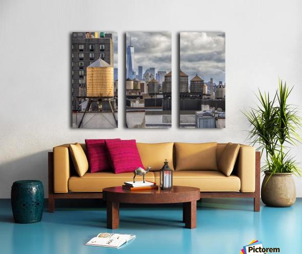 Water Towers  Split Canvas print