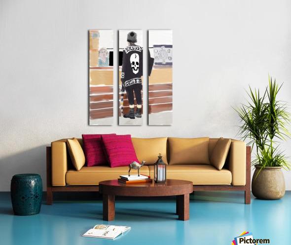 Lexington Contrasts Split Canvas print