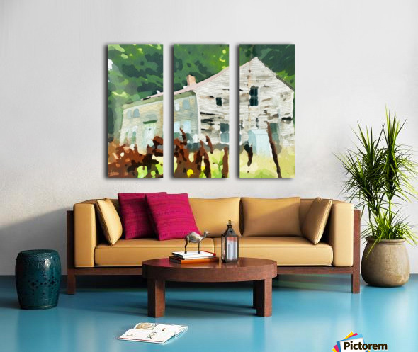 Cummington Old House Split Canvas print