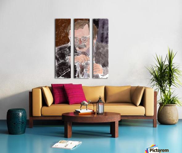 Lexington Sandro Split Canvas print