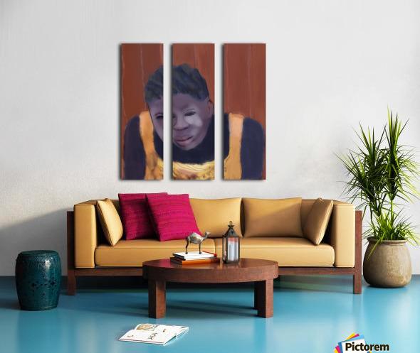 Whitney Plantation Slave Girl 4 Split Canvas print