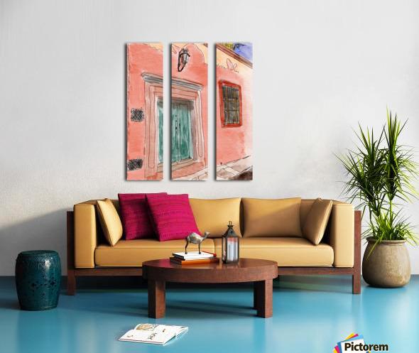 Mexico San Miguel de Allende Door 1 Split Canvas print