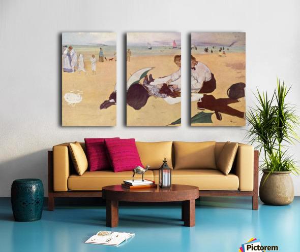 Beach Scene Split Canvas print