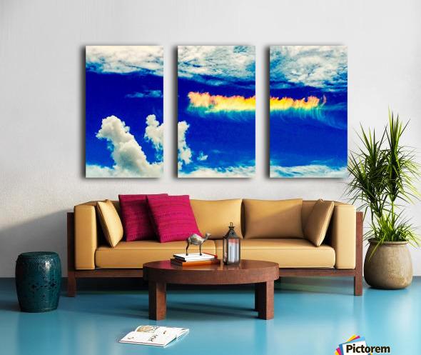 Follow the rainbow  Split Canvas print