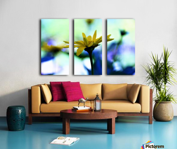 yellow flower Split Canvas print