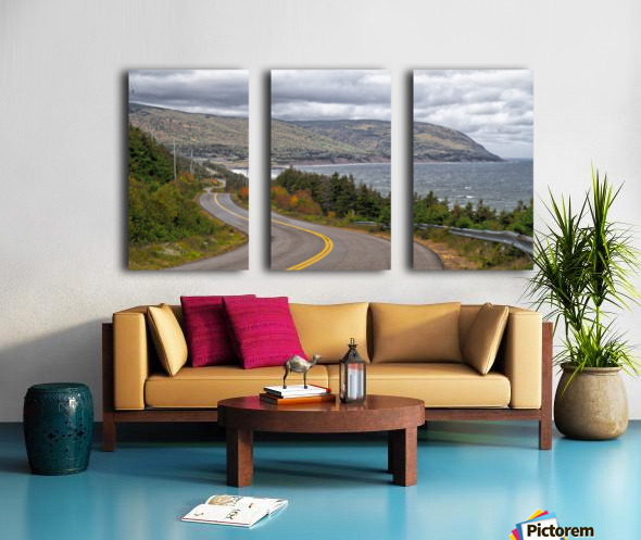 Long and Winding Road Split Canvas print