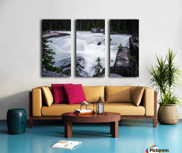 Columbia River Split Canvas print