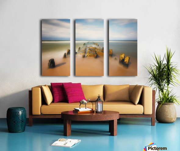 sea road Split Canvas print