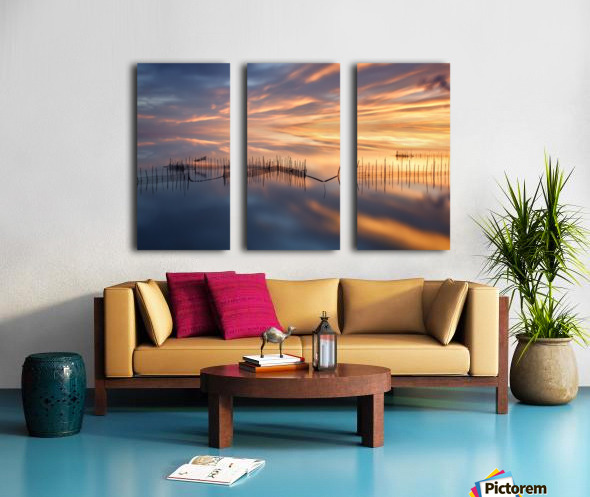 Fishnets Split Canvas print