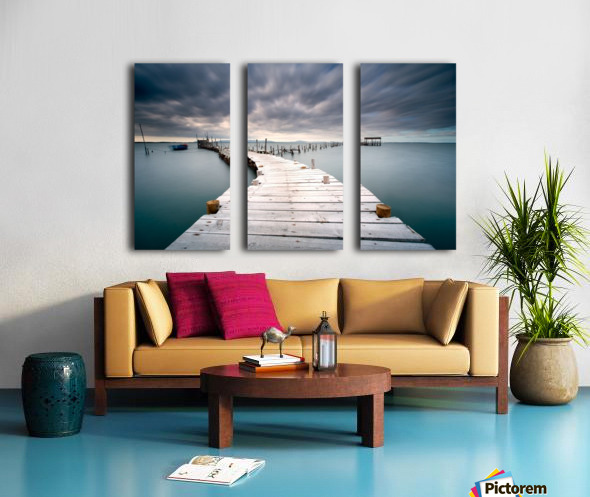 Last path Split Canvas print