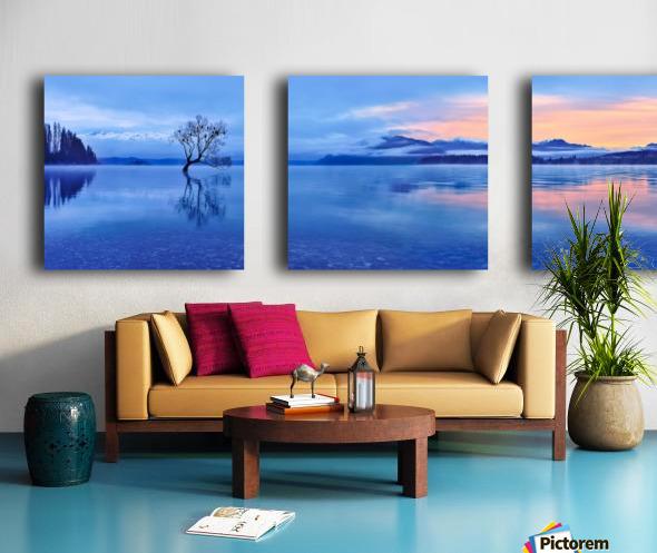 Lake Wanaka Split Canvas print