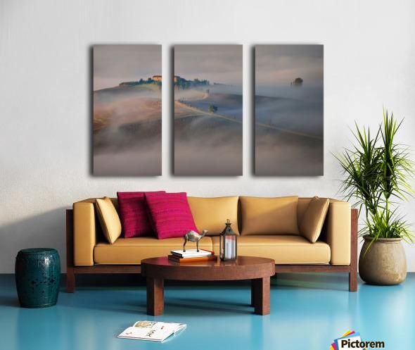 Silence Split Canvas print
