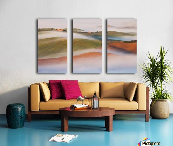 Fading away Split Canvas print