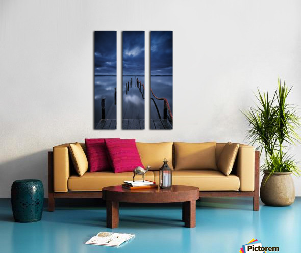 Cais Split Canvas print