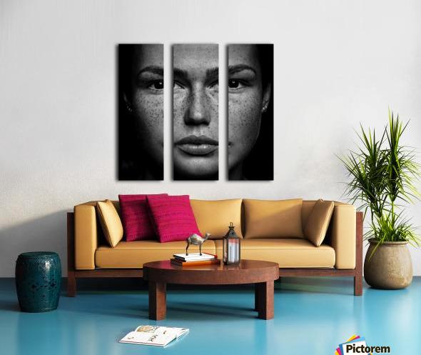 Romi Split Canvas print