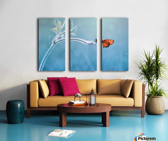 Merindukanmu Split Canvas print