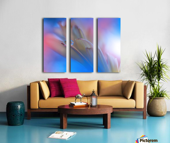 Touch Me Softly... Split Canvas print