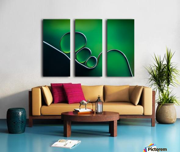 Shifting Shapes Split Canvas print