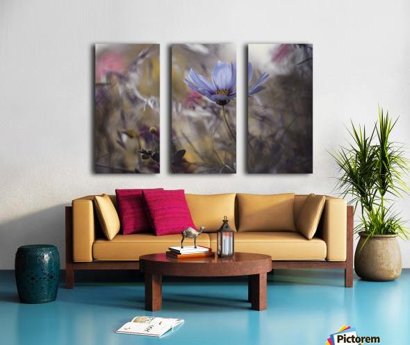 Things that flowers tell Split Canvas print