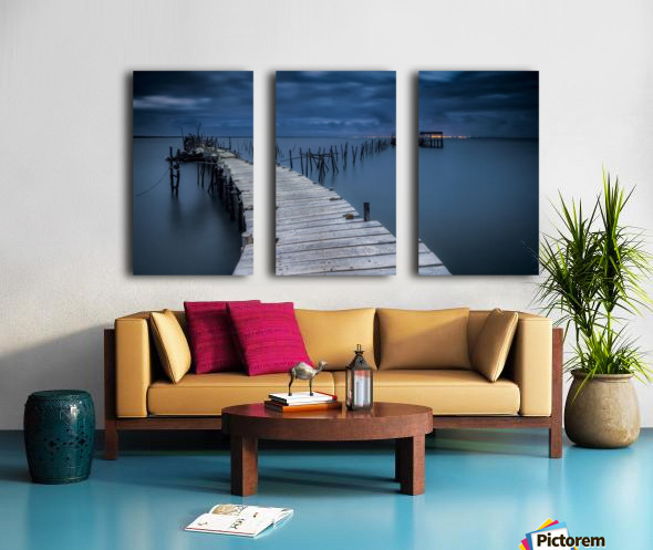 Carrasqueira Split Canvas print