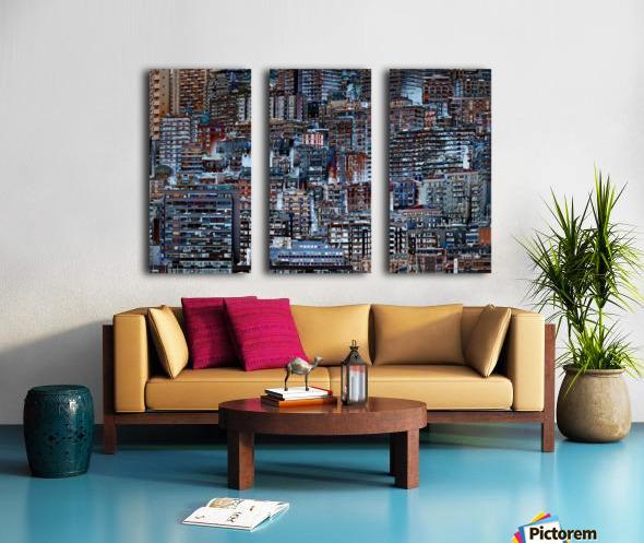 Metropolis Split Canvas print