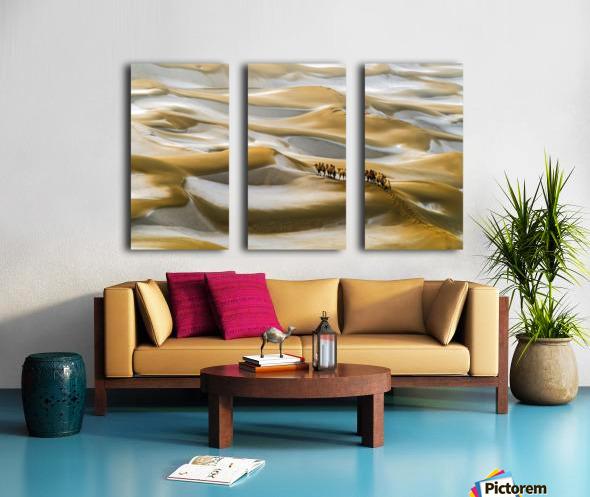 Desert Winter Split Canvas print