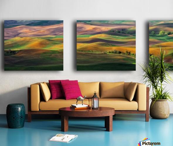 The Palouse Split Canvas print