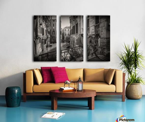 Gondolieri Split Canvas print