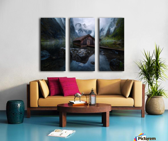 Ober-View Split Canvas print