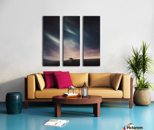 Lost Split Canvas print