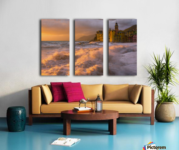 Camogli Split Canvas print