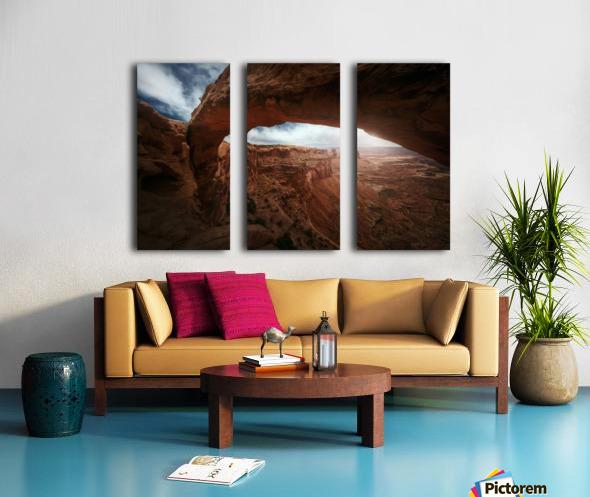 Mesa Arch Split Canvas print