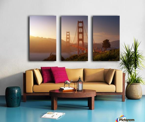 South Golden Gate. Toile Multi-Panneaux