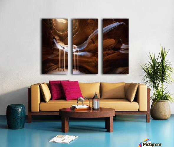 Antelope Waterfall Split Canvas print