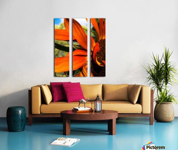 Sunflower  Toile Multi-Panneaux
