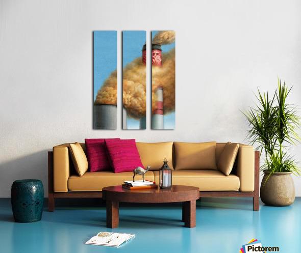 14 Krzysztof Grzondziel Split Canvas print