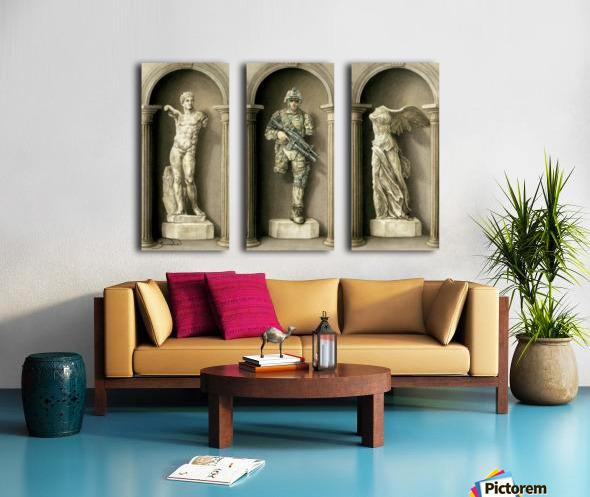13 Krzysztof Grzondziel Split Canvas print