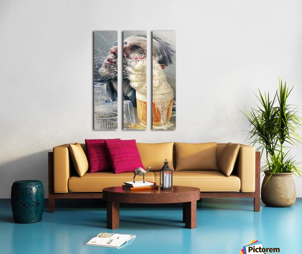 15 Krzysztof Grzondziel Split Canvas print