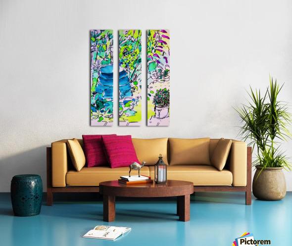 Summer Glory Split Canvas print