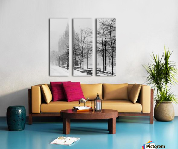 Gooderham in Winter Split Canvas print