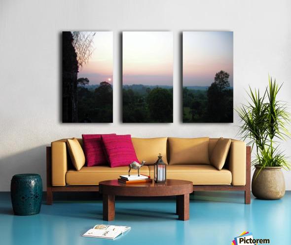 Sunset43 Split Canvas print