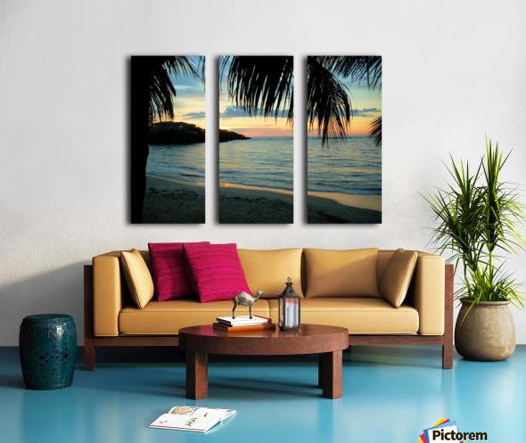 Sunset11 Split Canvas print