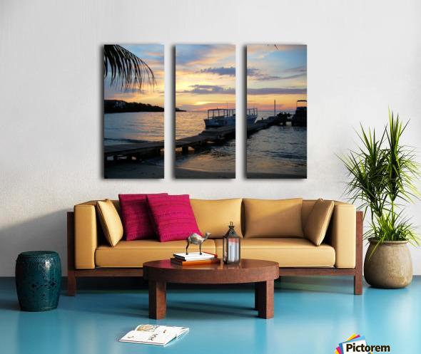 Sunset15 Split Canvas print